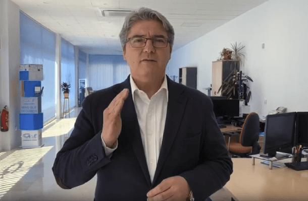 José Enrique García, presidente del colegio de Toledo, introduce la revista Aseguradores nº 493