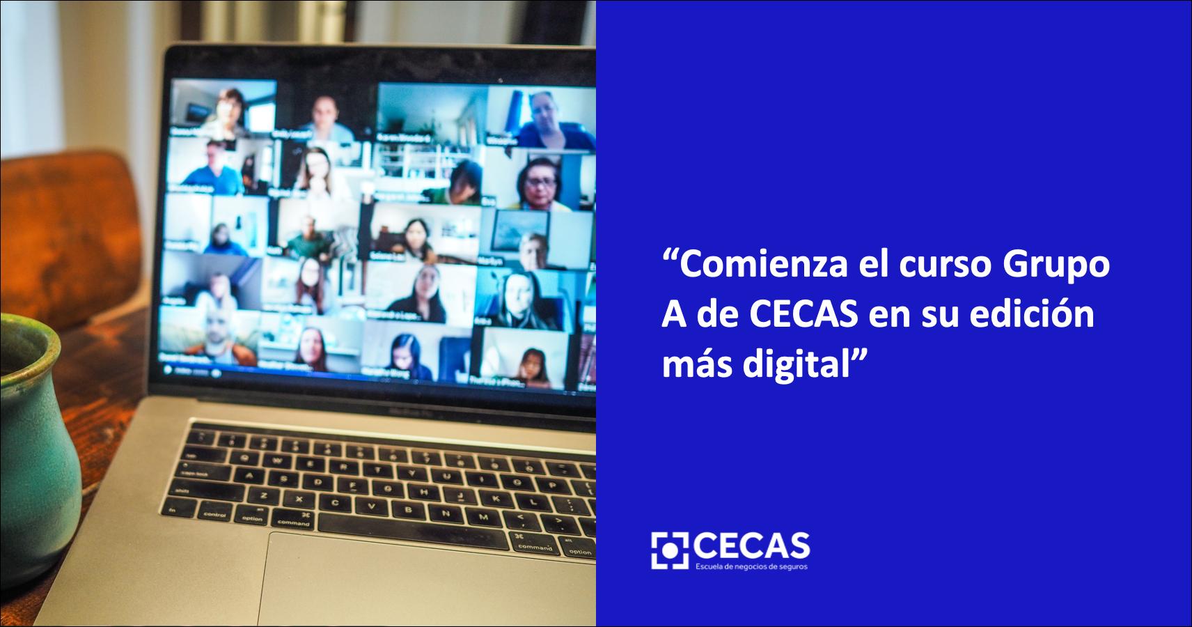 Comienza el curso Grupo A de CECAS en su edición más digital